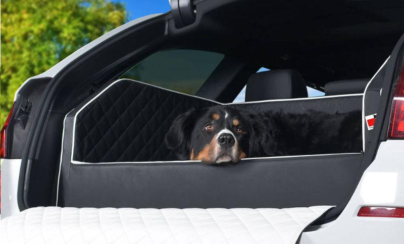 Autohundebett Travelmat duo Plus Kofferraum Hundekorb