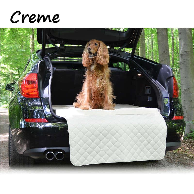 Hundematte Kofferraum Bett kofferraummatte creme