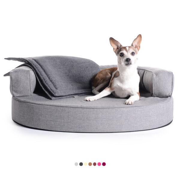 Hundebetten Atlanta Softline Preiswolf24.de silber