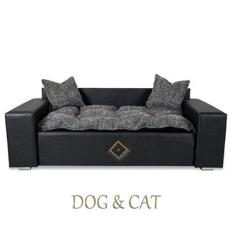 Dog and Cat Hundebett Kunstleder