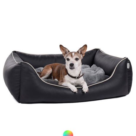 Hundebett Kunstleder Worldcollection