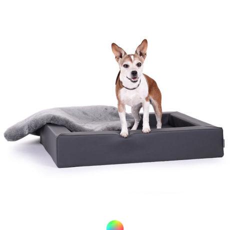 Hundekorb aus Kunstleder Mypado bei Preiswolf24