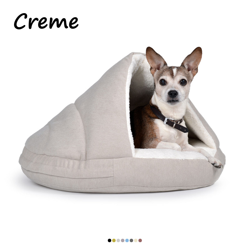 Hundehöhle Creme