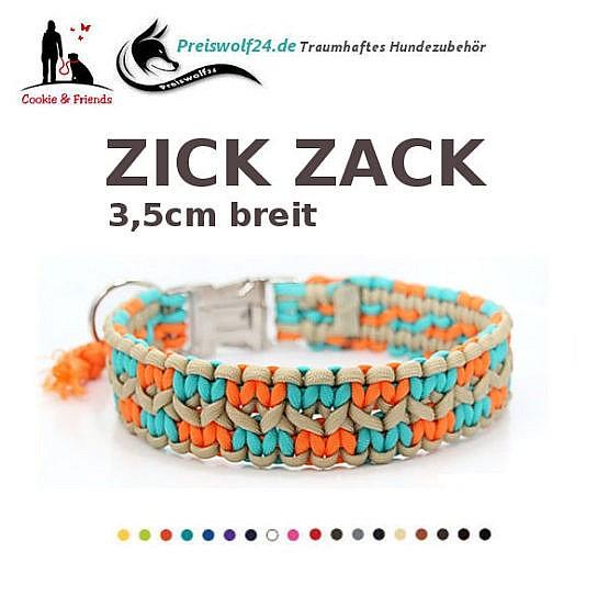 Paracod-Hundehalsband-zick-zack-vorschau