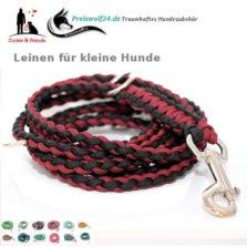 paracord-hundeleinen-fuer-kleine-Hunde