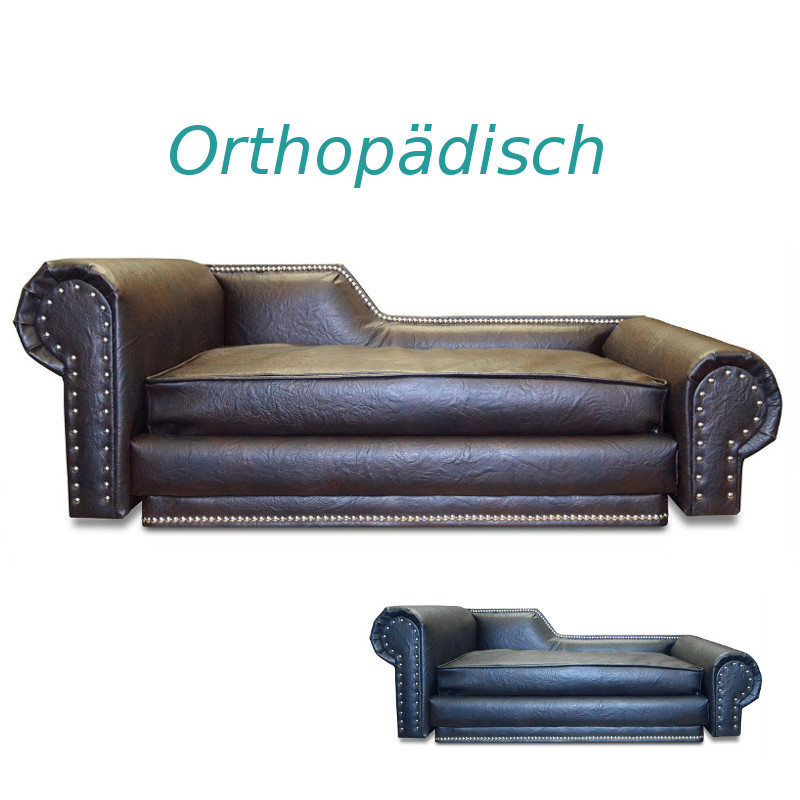 orthop disches luxus hundesofa edy design chesterfield xl. Black Bedroom Furniture Sets. Home Design Ideas
