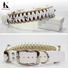 Paracord Hundehalsband King Cobra