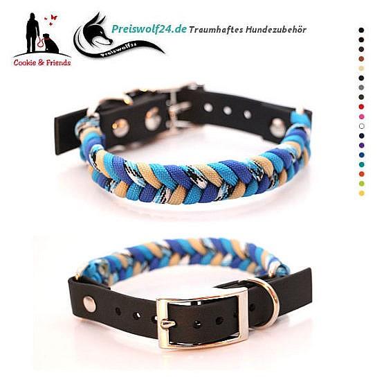 Hundehalsband aus Paracord Konfetti