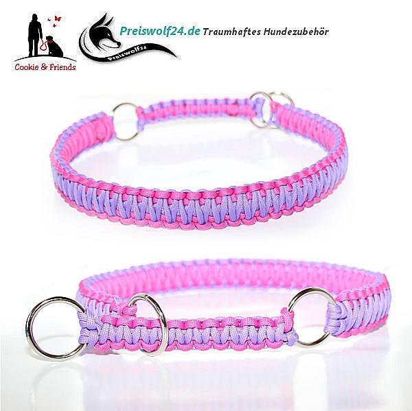 Paracod-Hundehalsband-lila-rosa