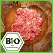 Bio Fleisch Hundefutter Hähnchenhälse gewolft