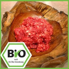 Bio Fleisch Hundefutter Rinderhalsfleisch