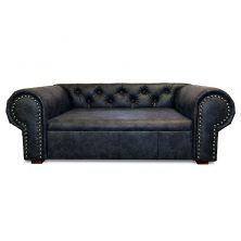 Hundesofa OHIO NEW Lux XL Chesterfield Mammut Anthrazit