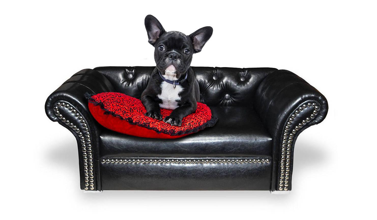 Designer Hundesofa Hundecouch Hundebett York Lux Chesterfield