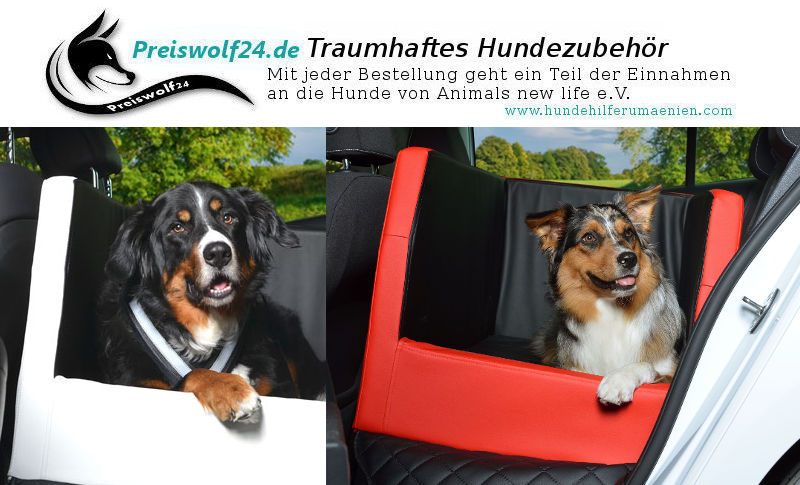 Autohundebett für die Rückbank Autositz Travelmat