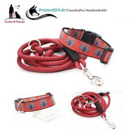 Hundehalsband-Tauhundeleine-Spinne