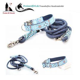 Hundehalsband-Tauhundeleine-Tag-am-Meer