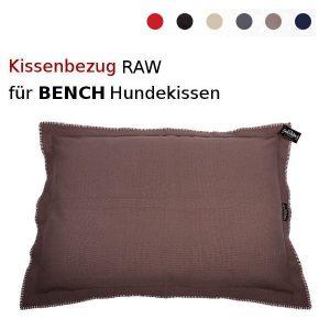 Kissenbezuege-raw-fuer-Bench-Hundekissenfuellung-Vorschau