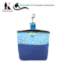 Leckerlibeutel Bag und Snack Blue Lunch