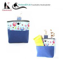 Leckerlibeutel-Bag-und-Snack-Eulen-auf-Blau