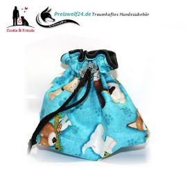 Leckerlibeutel Dogs-Blue