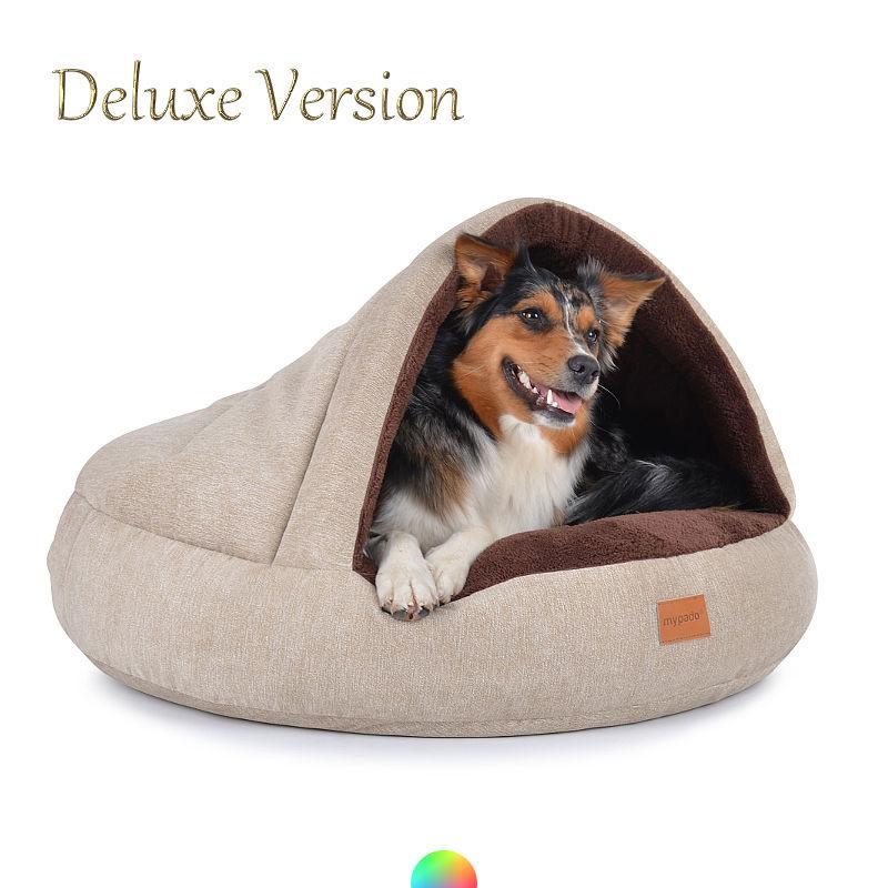 Hundebett warm kuschelige Hundehöhle