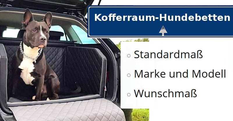Autohundebetten-Kofforraumhundebetten