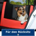 Rücksitz Rückbank Hundebett Autohundebett