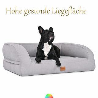 Hundebett Mypado hohe gesunde Liegefläche