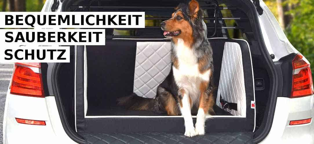 Kofferraum-Hundebett aus Kunstleder